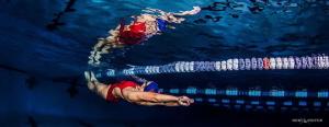 Swim team.  Working on streamline by Ken Kiefer