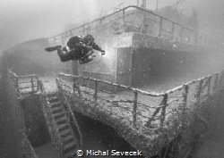 Amoco Milford Haven The biggest wreck in the mediterrane... by Michal Sevecek