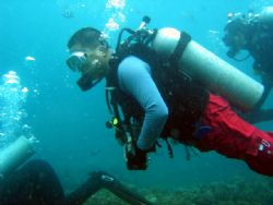 Thats me dive site Dive N Trek Anilao Batangas by Ernesto Yu