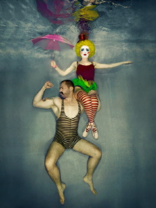 Underwater circus II. by Lucie Drlikova