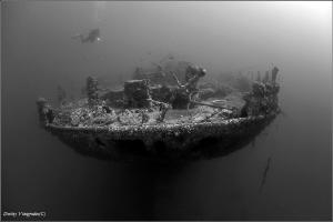 SS Turkia The Gulf of Suez by Dmitry Vinogradov