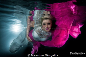 Mermaid Barbara in pink by Massimo Giorgetta