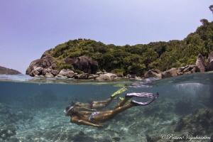 Snorkeling split by Petteri Viljakainen