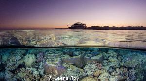 Red Sea split by Leena Roy