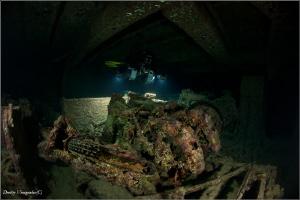 SS Thistlegorm by Dmitry Vinogradov