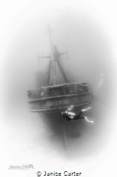 The kittiwake wreck is one of my favorite wrecks to photo... by Janice Carter