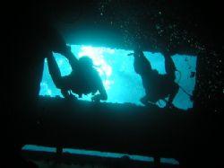 Divers in Ghiannis D, Red Sea by Gordana Zdjelar