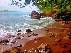 Red Sand Beach, Maui by Alison Ranheim