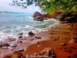 Red Sand Beach, Maui by Alison Ranheim