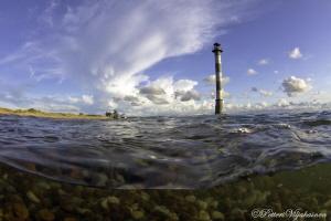 Kiipsaar lighthouse. Saarenmaa. by Petteri Viljakainen