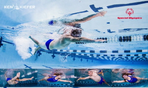 Donated a shoot for the Special Olympics local swim team.... by Ken Kiefer