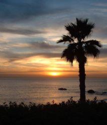 Laguna Beach Sunset! As good as any tropical paradise! by John Campbell