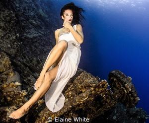Waiting Model Kat Felton by Elaine White