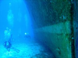 Wreck diving, Mexico by Ian Smith