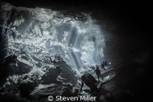 Dancing light by Steven Miller