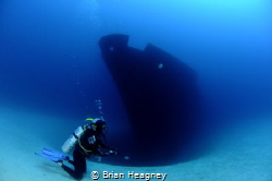 The Faroud memorial, 9 men lost their lives when the ship... by Brian Heagney
