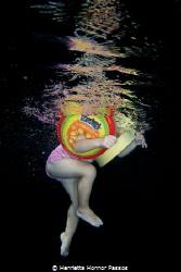 Monkey swimmers by Henrietta Honnor Passos