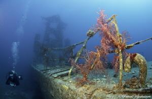 The Satil wreck. Eilat by Petteri Viljakainen