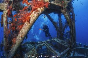 Wreck... by Sergiy Glushchenko