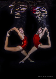 Synchronized Swimmers by Ken Kiefer