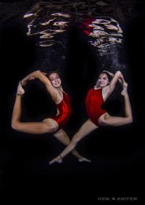 Synchronized Swimmers by Ken Kiefer
