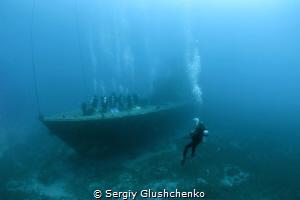Adoration of diving. by Sergiy Glushchenko