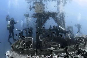 Underwater photography studio. by Sergiy Glushchenko