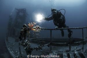 Deeper... by Sergiy Glushchenko