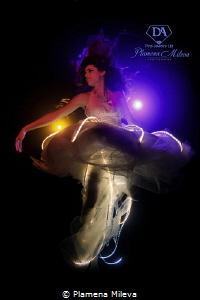 Cosmic jellyfish by Plamena Mileva