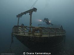 Trawler Mohamed Hasabella #1 Egypt, Hurgada. Depth 33 me... by Oxana Kamenskaya