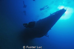 """Wreck of the submarine """"LE RUBIS"""" in front of Cap Camarat... by Fuster Luc"""