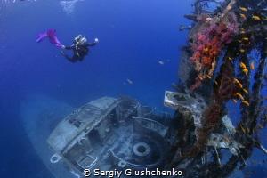 Wreck-diving by Sergiy Glushchenko