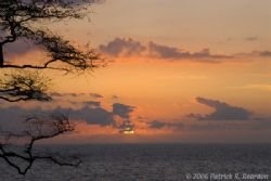 Wailea Point sunsetm Maui. D200 by Patrick Reardon