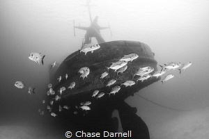 """""""Abandoned Ship""""  EX-USS Kittiwake Grand Cayman by Chase Darnell"""