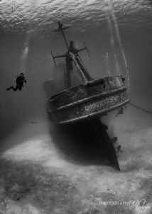 no strobes, d800  Ghost Ship by Ledean Paden