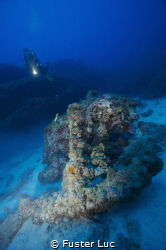 Anchor of the late 18th century based on a sandy bottom  ... by Fuster Luc
