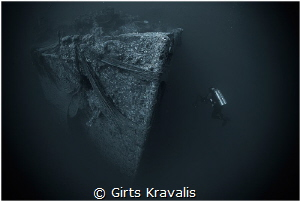 Wreck of Turkia by Girts Kravalis