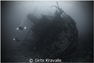Wreck of Giannis D by Girts Kravalis