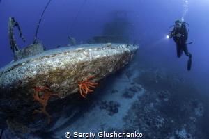 Satil Wreck... by Sergiy Glushchenko