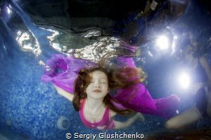 Photomodelling little girl. by Sergiy Glushchenko