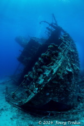 Wreck of the Ghiannis D - photographed using Magic Filter by Joerg Trnka