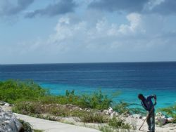 Photo taken in Curacao....what an office by Kelly N. Saunders