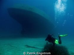 Diving the Tug 2 with Patrik Engstrom in Malta, Sliema - ... by Patrik Engstrom