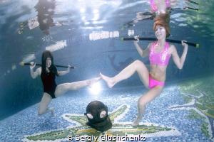 Aquafitness... by Sergiy Glushchenko