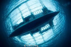 T O P - V I E W  Bangka (Boat)  Sumilon Island, Cebu. P... by Irwin Ang