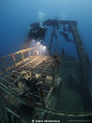 Trawler Mohamed Hassabella. Wreck is close to the El Mina... by Oxana Kamenskaya