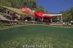 """Enjoy your meal!  restorante """"El Bigote"""" Cala Mastella -... by Fuster Luc"""
