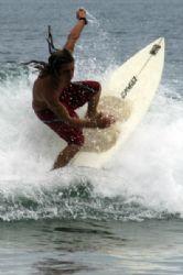 Surfer inTamarindo by Martin Van Gestel