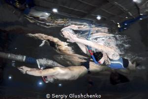 Finswimming... by Sergiy Glushchenko