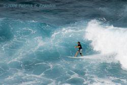 Surfer in Maui, Hawaii. by Patrick Reardon